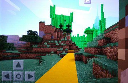 Emerald-city-yellow-brick-road-minecraft-brick-road