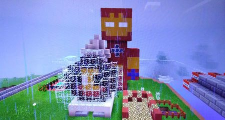 Minecraft-Creative-Iron-Man