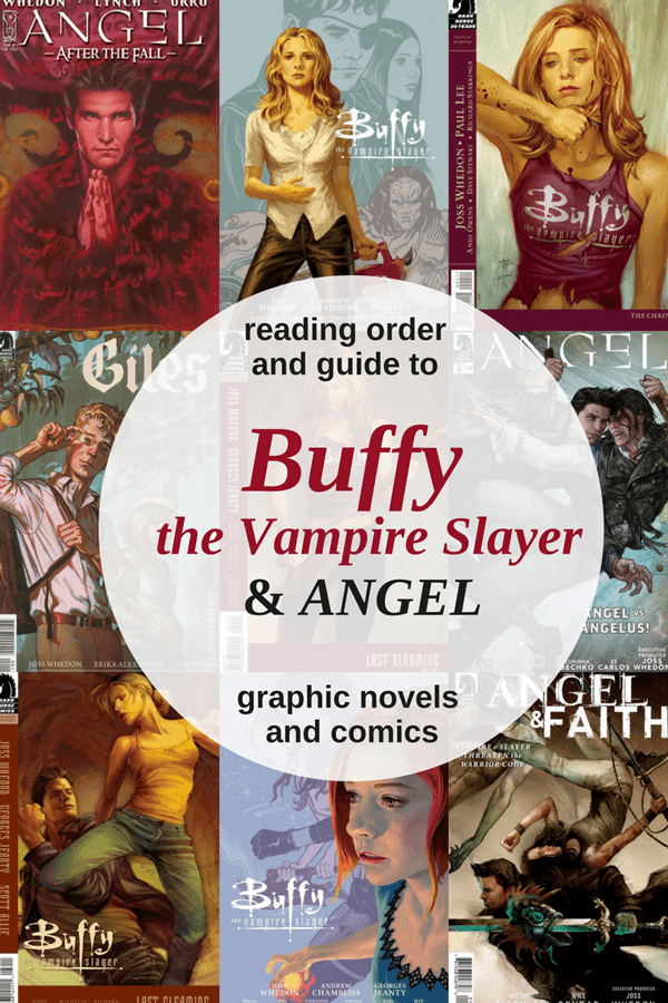 Reading-order-and-guide-to-Angel-and-Buffy-graphic-novels-and-comics