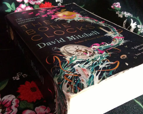 looking-for-great-read-to-kick-start-2018-reading-The-Bone-Clocks-David-Mitchell-cover-and-spine-Photo-by-readinginspiration