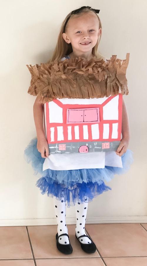 Alice in Wonderland costume World Book Day