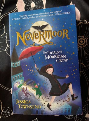 Nevermoor The trials of morrigan crow by jessica-townsend nevermoor book-review-readinginspiration