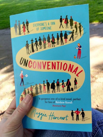 book-review-Unconventional-by-Maggie-Harcourt-photo-by-readinginspiration