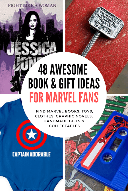 48-Awesome-Book-&-Gift-Ideas-for-Marvel-Fans.-Find-Marvel-books,-toys,-games,-graphic-novels,-handmade-gifts-&-collectables
