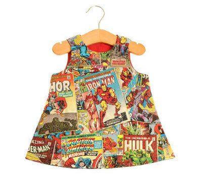 Avengers-comic-childrens-dress-lucysdesigns-etsy