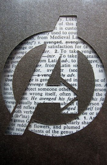 Avengers-logo-hand-cut-card-bookmark-by-craftedwithzeal-etsy
