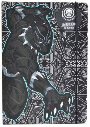 Black-Panther-notebook-marvel-gifts-image-from-Forbidden-Planet