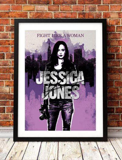 Jessica-Jones-inspired-purple-print-TommySprayArt-Etsy