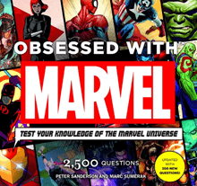 cover of Obsessed with Marvel test your knowledge book - image credit - Forbidden Planet