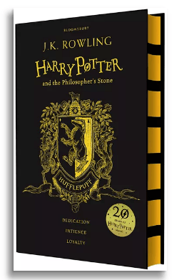 Harry-Potter-and-the-Philosophers-stone-by-J.K.Rowling-book-Hufflepuff-edition