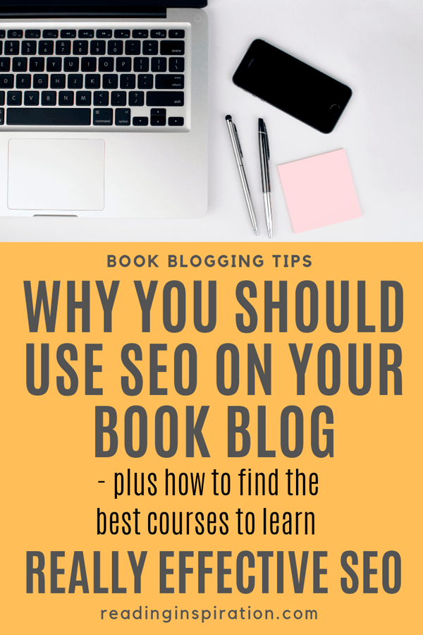 about blogging tips seo for book bloggers