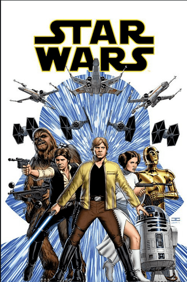 Guide and reading order Marvel comics Star Wars