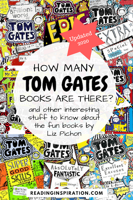 Tom Gates all books - How many Tom Gates books are there - And other interesting stuff about these fun books including a book list of Tom Gates in order