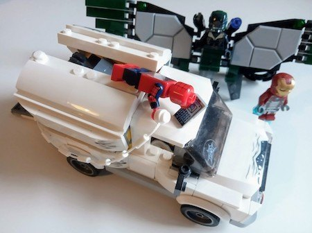 lego sets marvel spider-man vs vulture