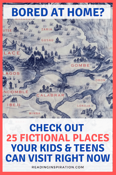 fictional places you can visit right now